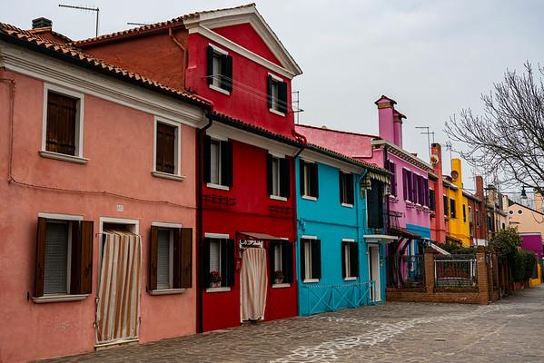 Burano, Italy Island painted houses