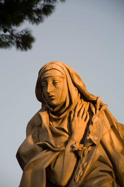 Statue of Saint Catherine of Siena – Rome