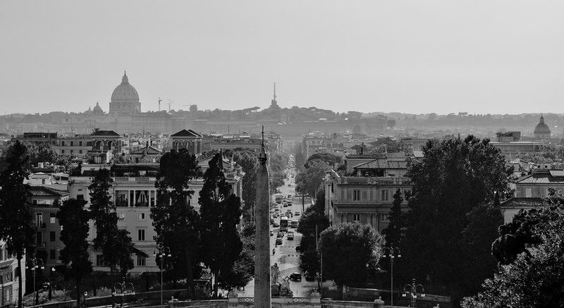 Vatican Skyline - Rome Italy