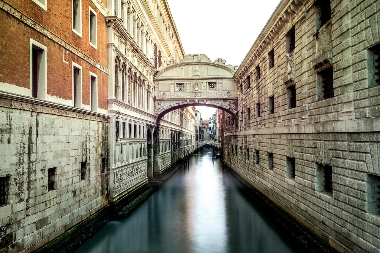 Ponte de Suspiri, Venice.