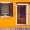 Door 177 and Window, Burano, Veneto