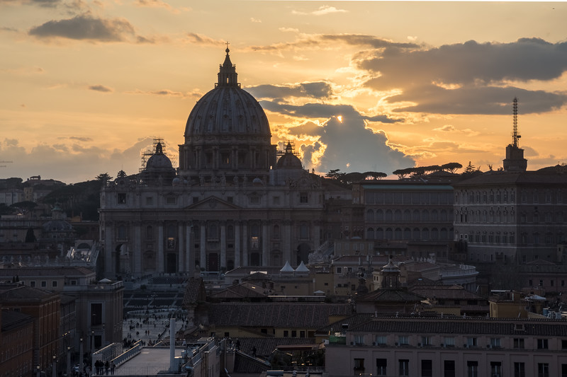 St Peter's Basilica and the Vatican