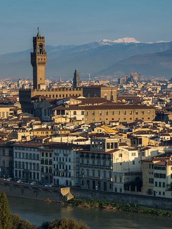Palazzo Vecchio and the Florence cityscape