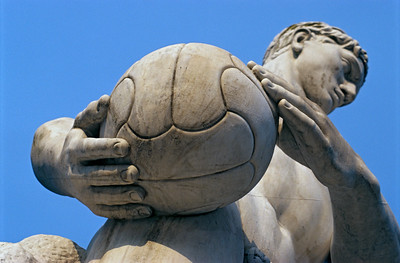 Football Player Statue, Foro Italico