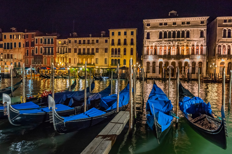 Magical Lights in Venice
