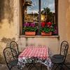 Sidewalk Cafe, Tuscany