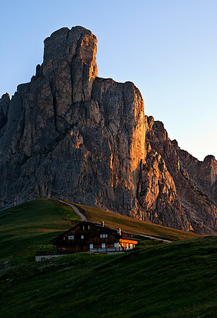 Richards__Early Morning in the Dolomites near Cortina