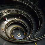 Spiral Staircase at Vatican Museums