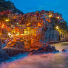 The Colors of Night, Manarola, Cinque Terre, Liguria