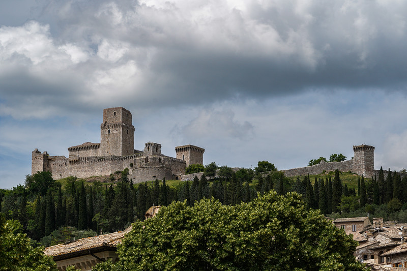 Castle in Assisi