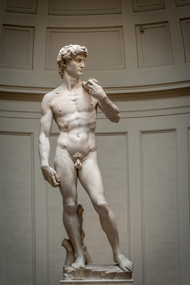 Michelangelo's David, Florence.