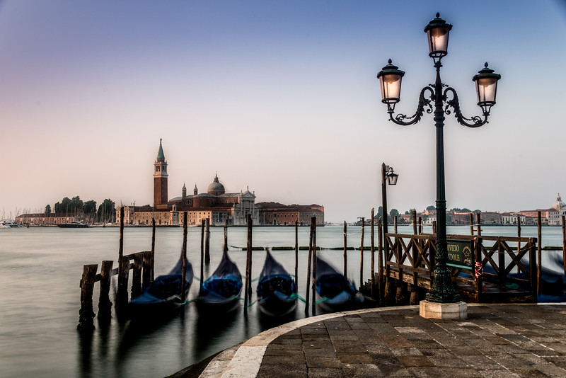 Gondolas, Venice.