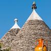 Conical Trulli Roofs, Alberobello