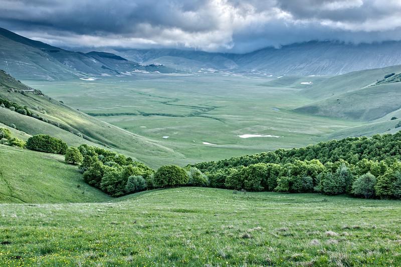 The Piano Grande in Umbria Italy
