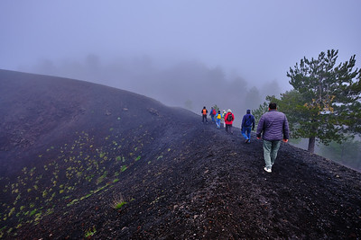 Crater on Etna