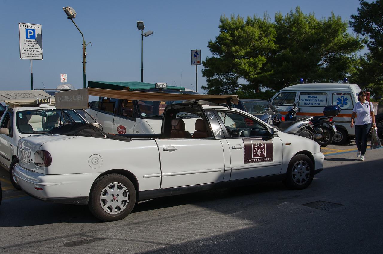 Capri's version of a touring car.