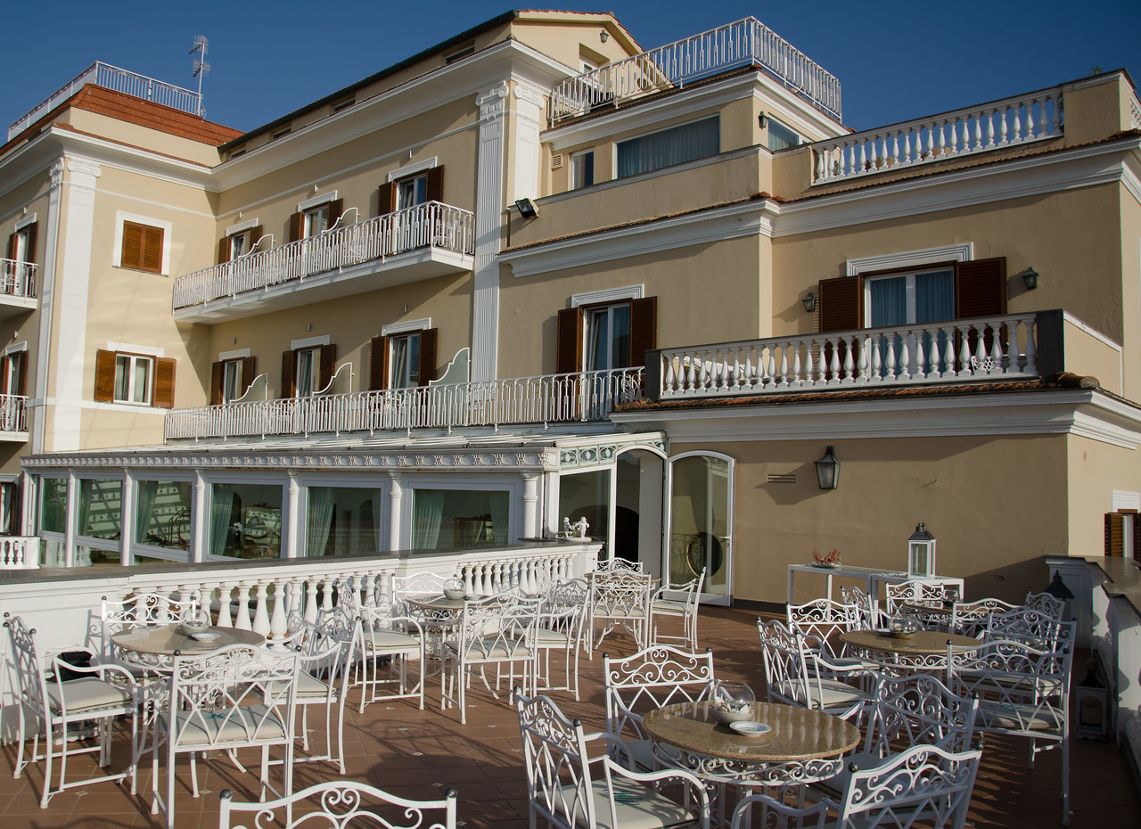 Hotel Corallo - our home for 5 nights as we explored Sorrento, Capri and the Amalfi Coast