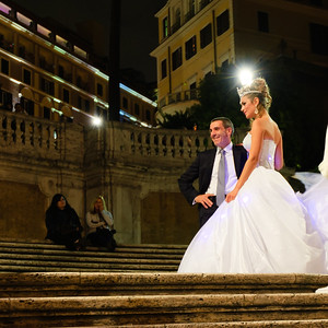 Wedding on the Spanish Steps