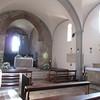 inside church Monteriggioni