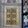 behind is relic of blood stained cloth Duomo Orvieto