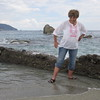 water shoes Monterosso Cinque Terre Ligurian Sea Sept 21,2016