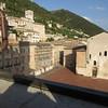 courtyard Hotel in Gubbio Don Mateo filmed here