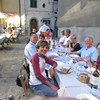 welcome dinner Pistoia