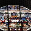 Last Supper stained glass Duomo Siena sept 19