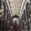 Brunelleschi's Church of San Lorenzo @ Florence
