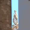 Bernini statue looks down upon us