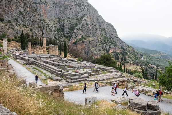 Itea, Greece and Delphi