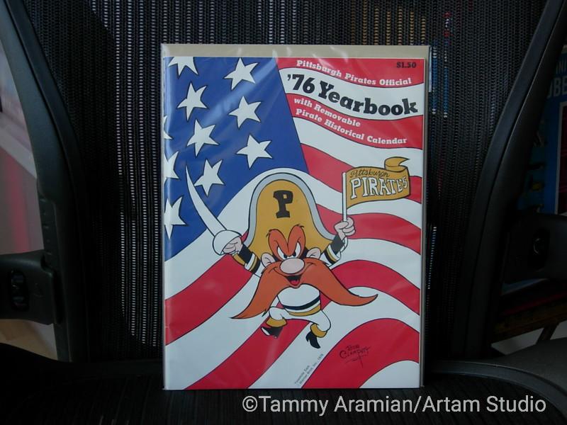 1976 Pittsburgh Pirates yearbook - Yosemite Sam