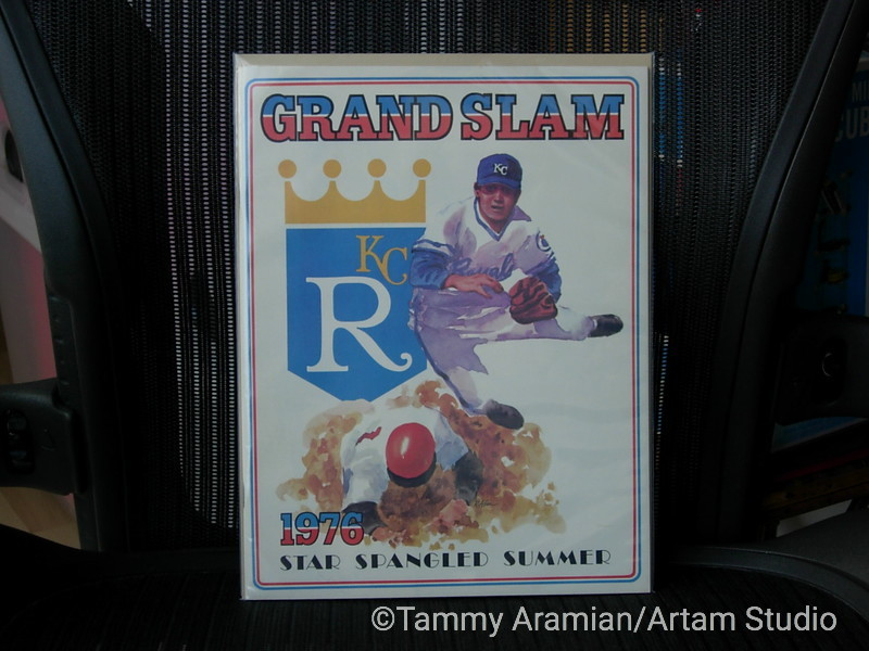 1976 Kansas City Royals yearbook