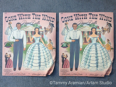 Paper doll book