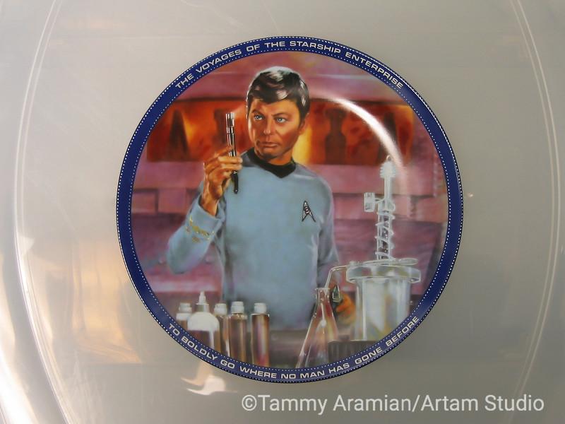 1983 Dr. McCoy plate, front