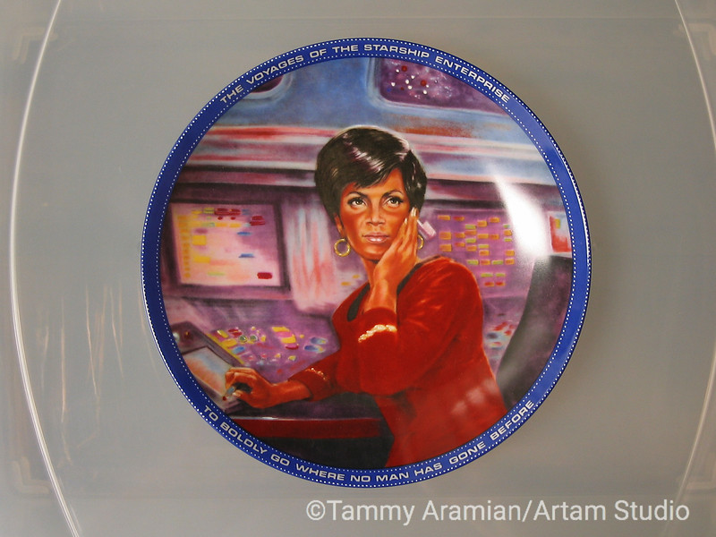 1983 Uhura plate, front