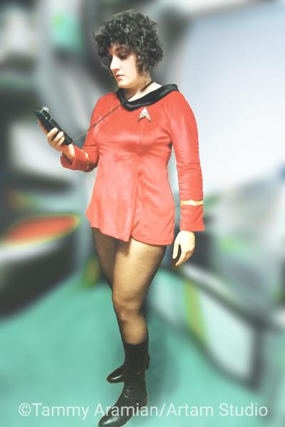 TOS Operations officer dress uniform