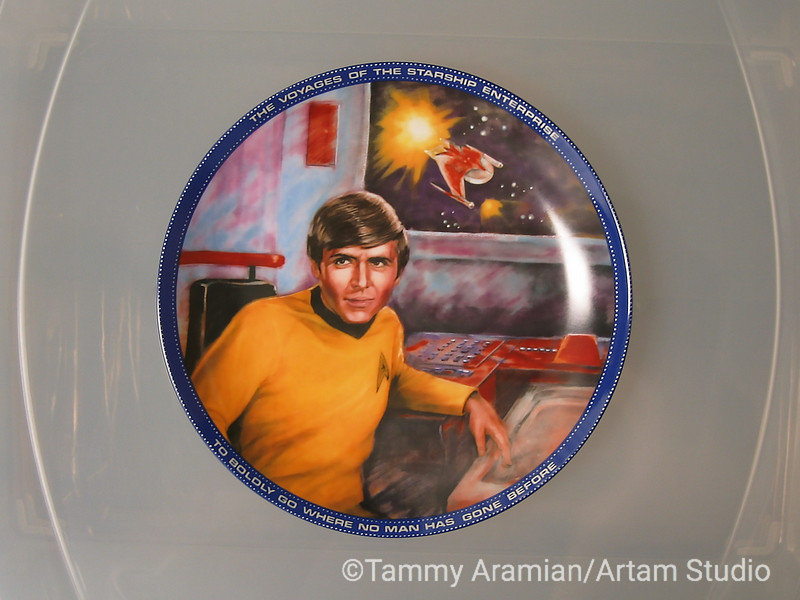 1983 Chekov plate, front