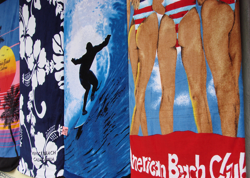 Towels<br /> Shot in Venice California<br /> Sony H5<br /> Auto IS0<br /> AWB<br /> IS On