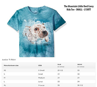 The Mountain Little Uwd Corey Kids Tee - SMALL - $150TT