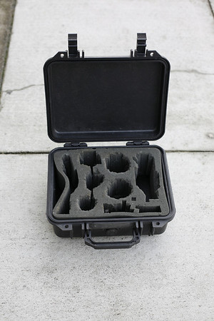 fully waterproof pelican high impact case for your electronic valuables--30 dollars