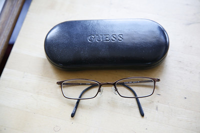 Guess prescription glasses--click the ensuing photo to blow up the assessment to see if it's your prescription, or replace the lenses, as the frames are expensive. excellent condition with case---$50. sales@daresay.com