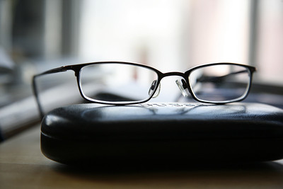 Guess prescription glasses--download two photos before and expand test assessment to see if it's your prescription, or replace the lenses, as the frames are expensive. Excellent condition with case---$50. sales@daresay.com