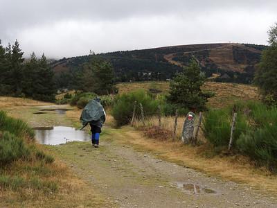 A l'approche des chalets du Mont Lozère