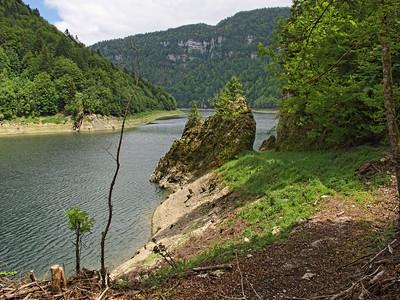 Lac de Moron, rive suisse