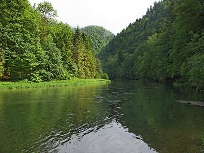 Le long du Doubs, rive suisse