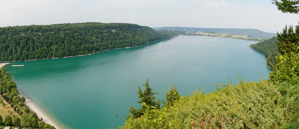18 juin - Belvédère de Fontenu, lac de Chalain