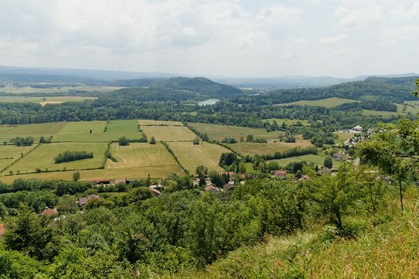17 juin - Vallée de l'Ain du belvédère de Chatillon