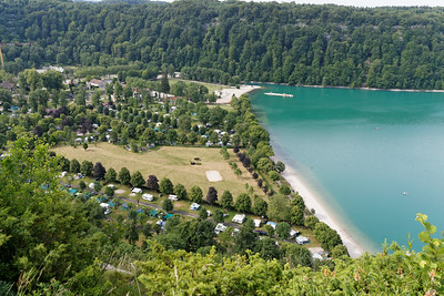 18 juin - Plage du lac de Chalain