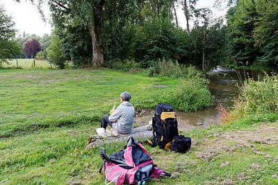 08-09 Moulin de Lambert -Pique nique au bord de l'Eure